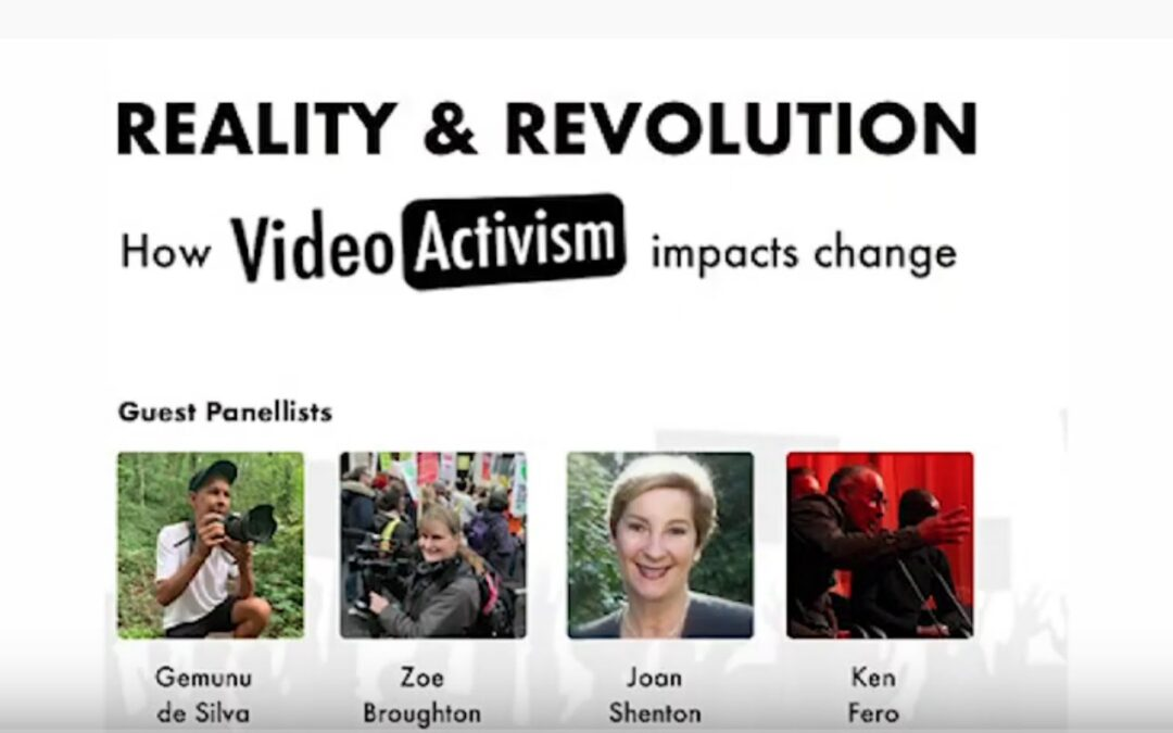 Watch Again – Activism Event: Reality and Revolution